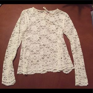 Alexa Chung for Madewell lace top